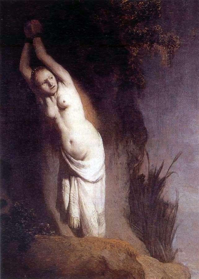 Andromeda   Rembrandt Harmens Van Rhine