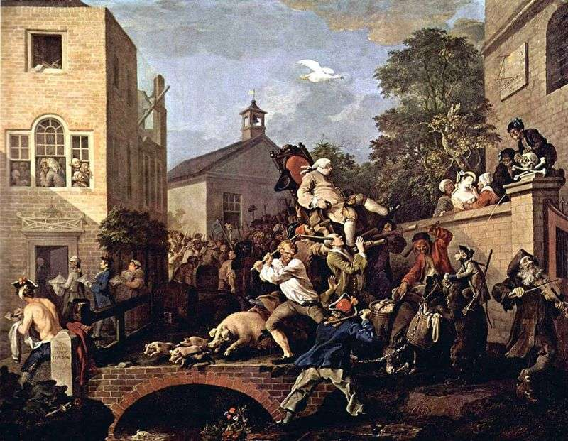 Procesja triumfalna   William Hogarth