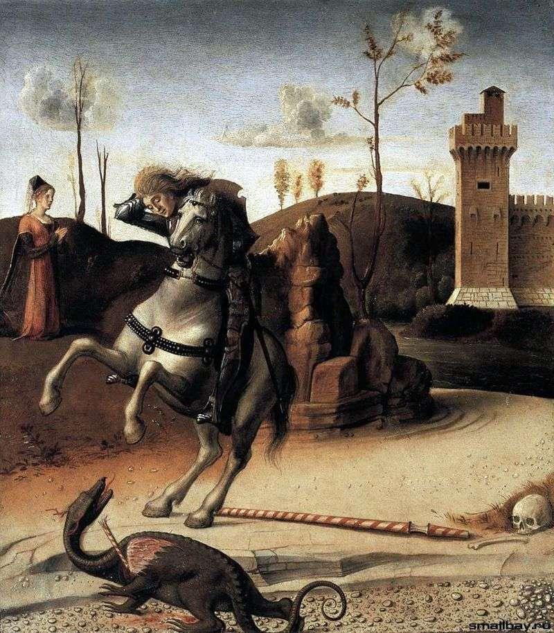 Święty Jerzy i smok   Giovanni Bellini