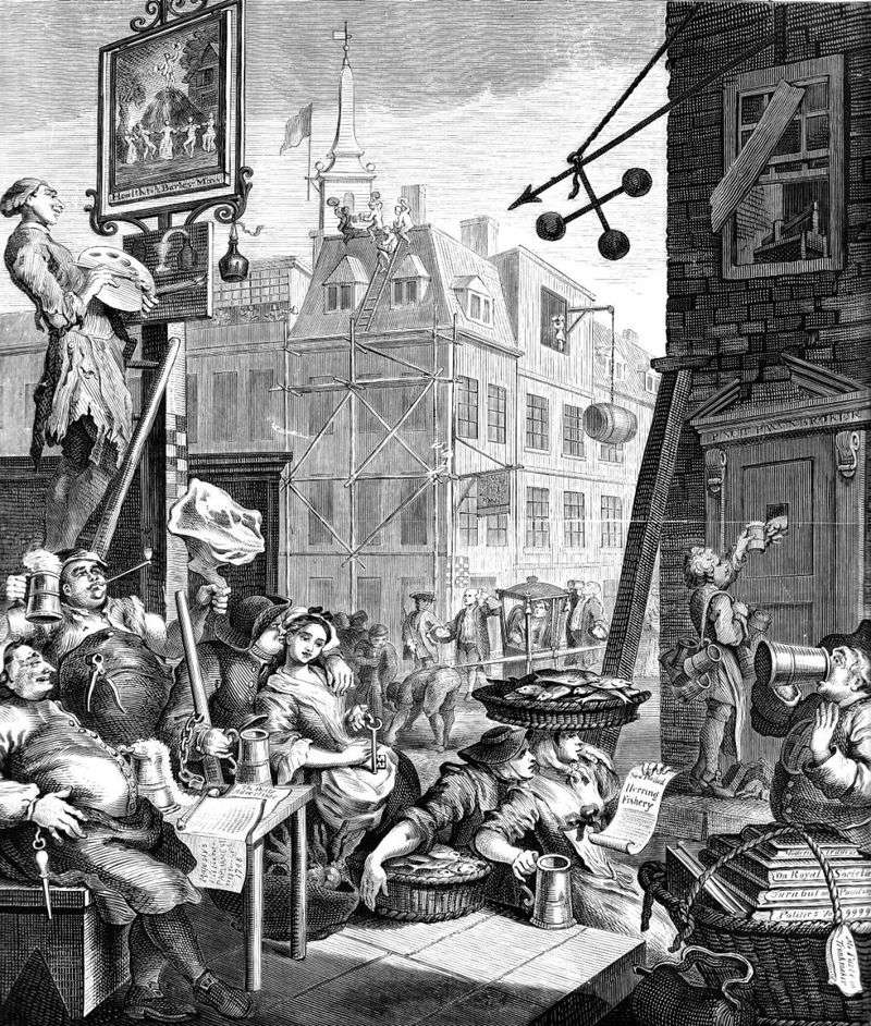 Beer Street   William Hogarth
