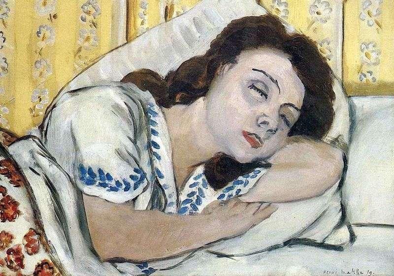 Słodki sen   Henri Matisse