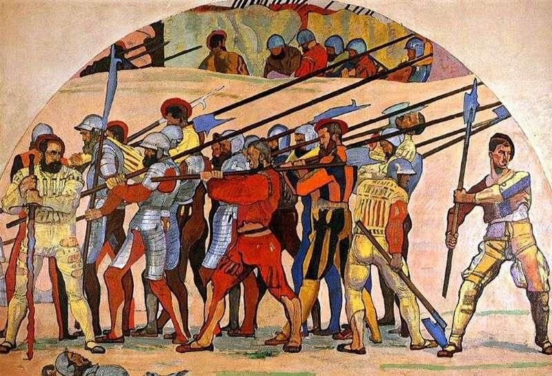 Rekolekcje w Marignano   Ferdinand Hodler