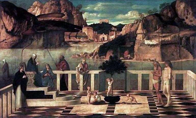 Święta Alegoria   Giovanni Bellini