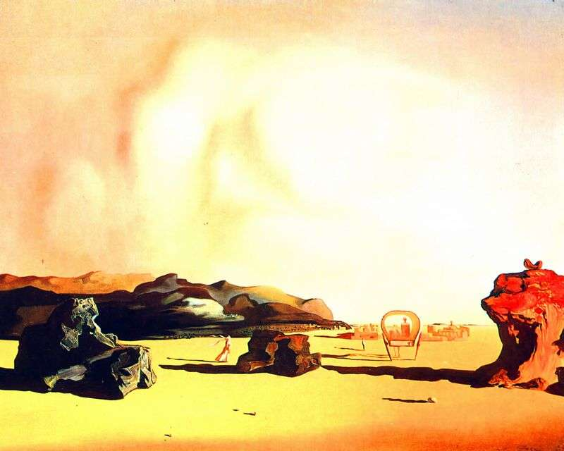 Moment przejściowy   Salvador Dali