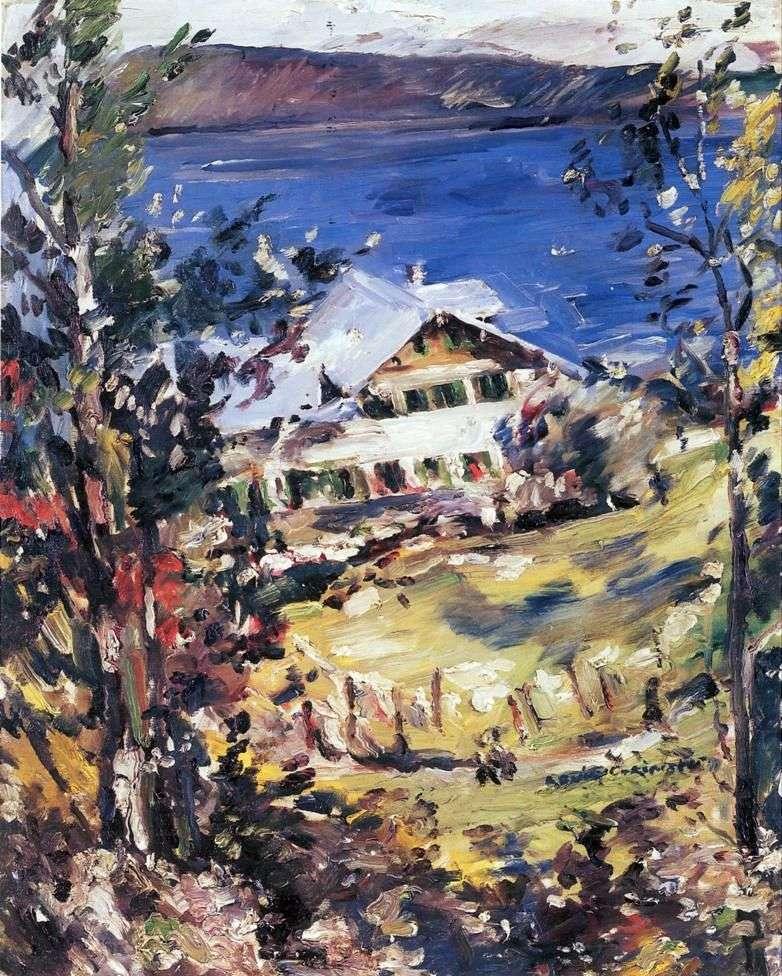 Dom chłopski w Walchensee   Lovis Corinth