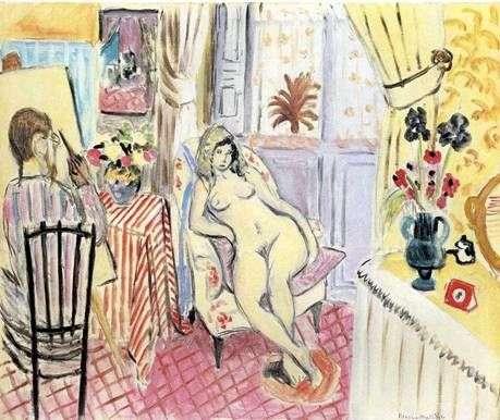 Artysta i jego model   Henri Matisse