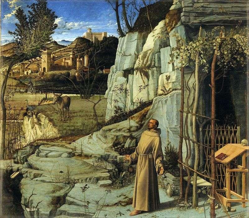 Ekstaza św. Franciszka   Giovanni Bellini