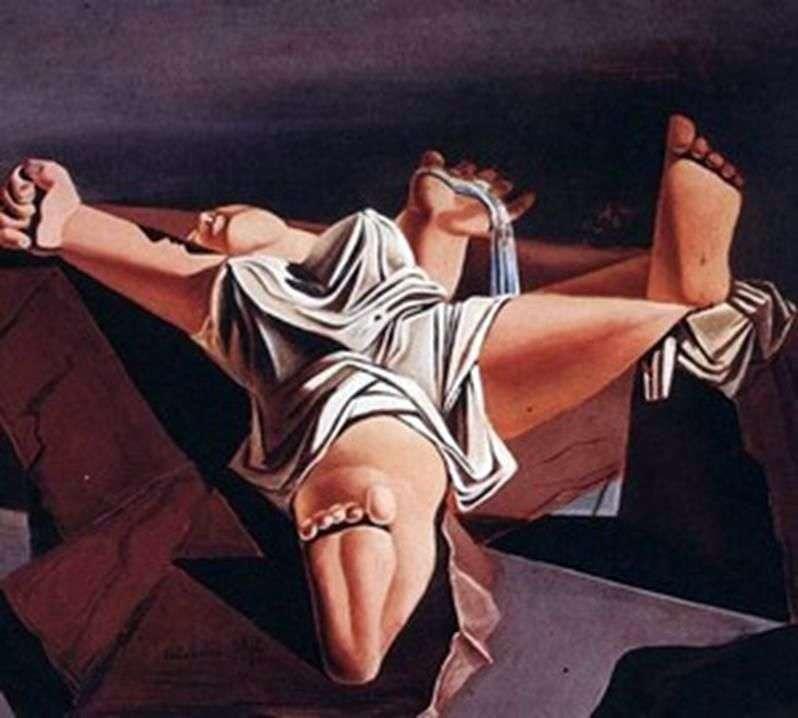 Ciało na kamieniach   Salvador Dali