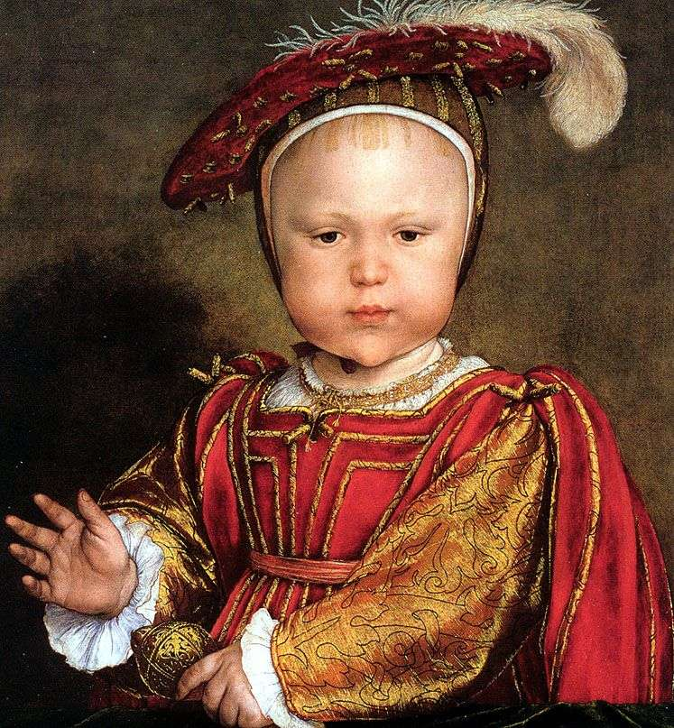 Edward, Prince of Wales   Hans Holbein (Younger)