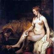 Bathsheba   Rembrandt Harmens Van Rhine