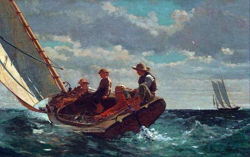 Gust of Wind   Winslow Homer