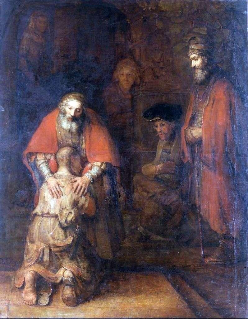 Powrót syna marnotrawnego   Rembrandt Harmens Van Rhine