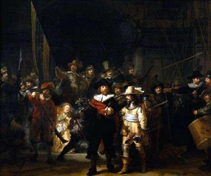 Przemówienie firmy karabinowej   Rembrandt Harmens Van Rhine