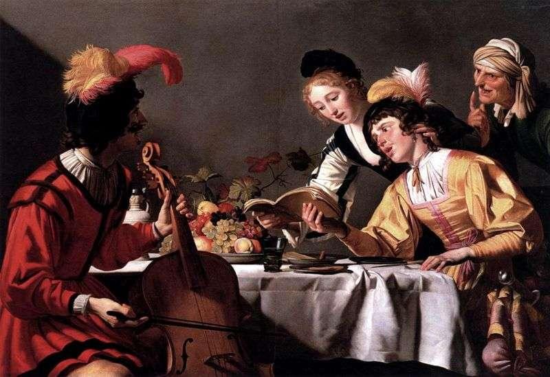 Koncert   Gerrit van Honthorst