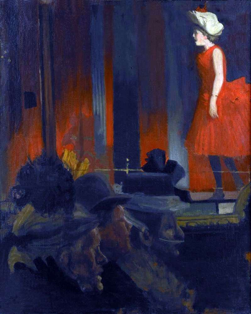 Music Hall   Walter Richard Sickert