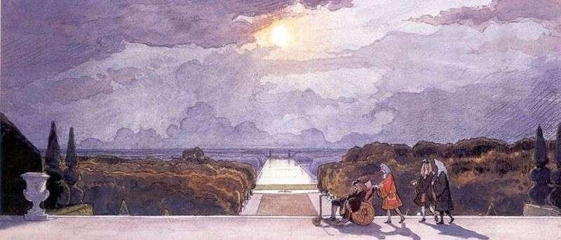 Versailles. Kings Walk   Alexander Benoit