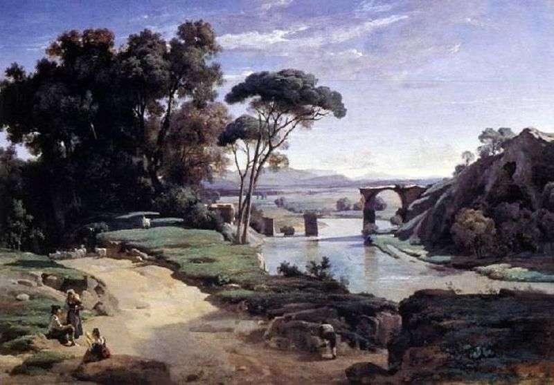 Most do Narni   Camille Corot