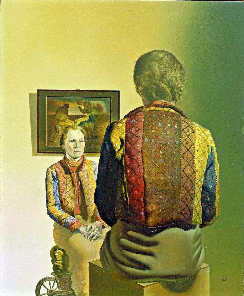 Portret Gali   Salvador Dali