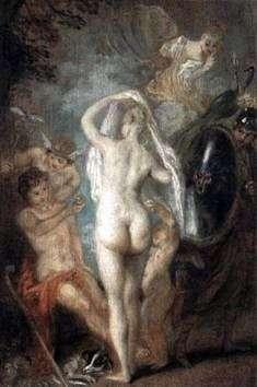 Paryż wybiera Afrodytę   Jean Antoine Watteau