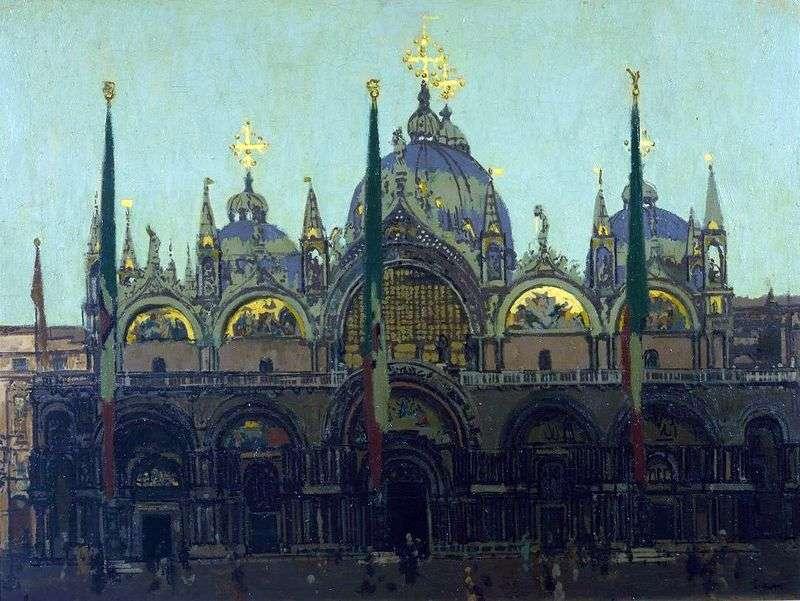 San Marco, Wenecja   Walter Richard Sickert