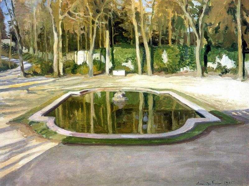 Lustro w Trianon   Alexander Benoit