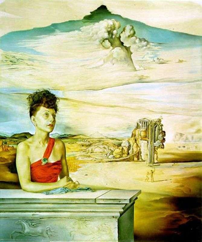 Portret pani Jack Warner   Salvador Dali