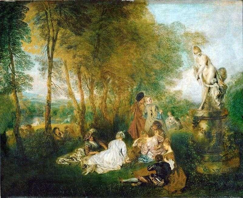 Święto miłości   Jean Antoine Watteau
