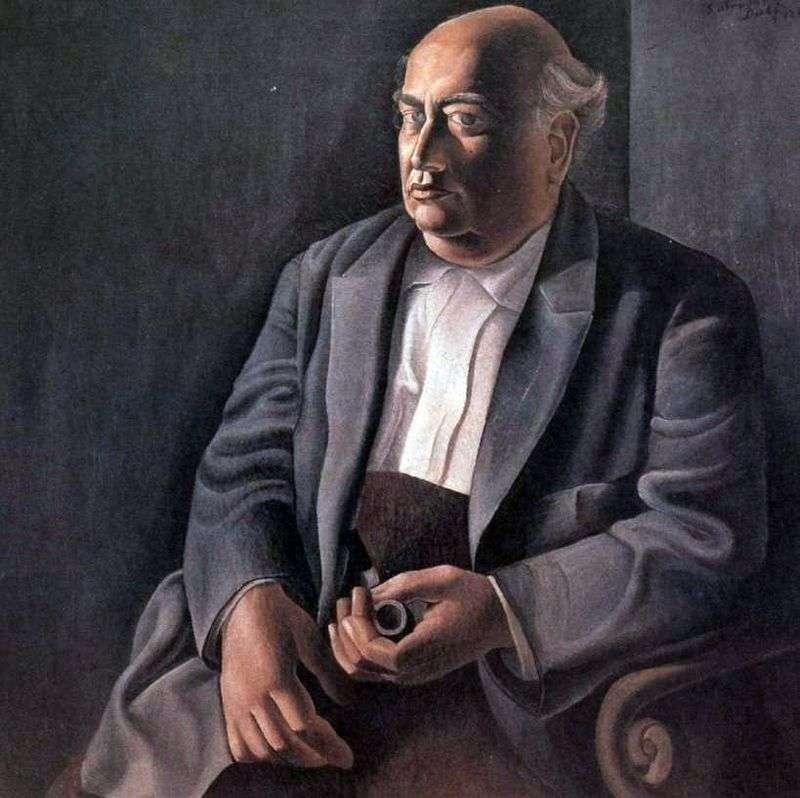 Portret mojego ojca z fajką   Salvador Dali