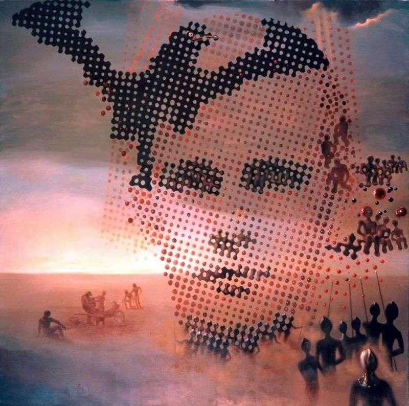 Portret mojego zmarłego brata   Salvadora Dali