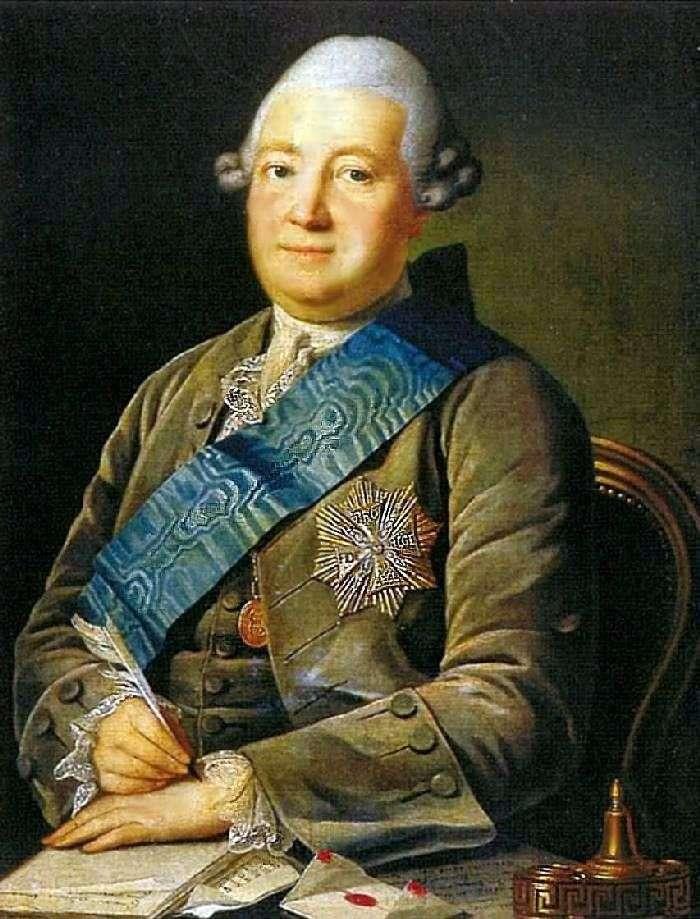 Portret Adama Wasiljewicza Olsufiewa   Karl Ludwig Christininek