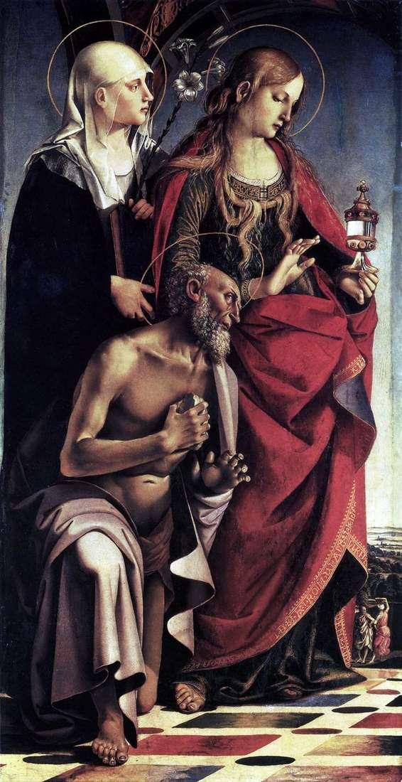 Ołtarz św. Augustyn   Luca Signorelli