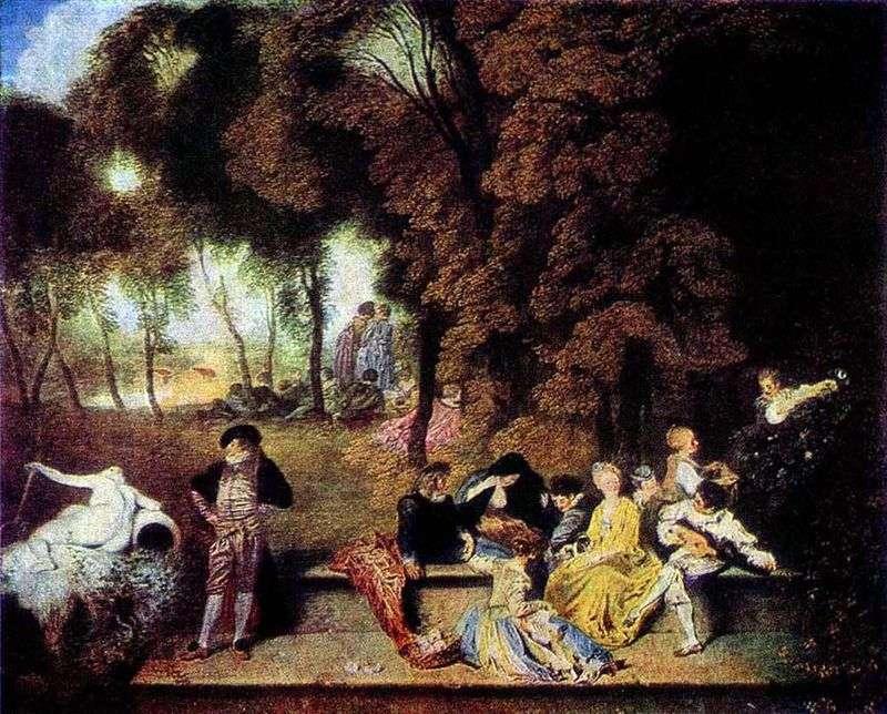 The Joys of Love   Jean Antoine Watteau