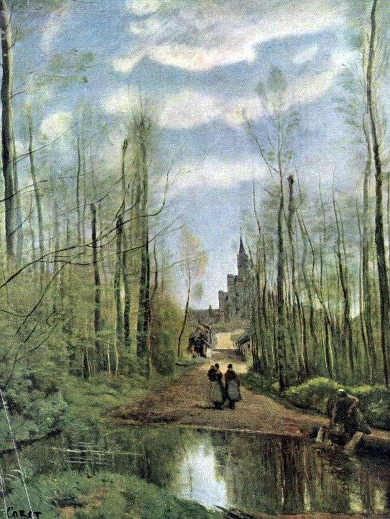 Kościół Marissel   Camille Corot