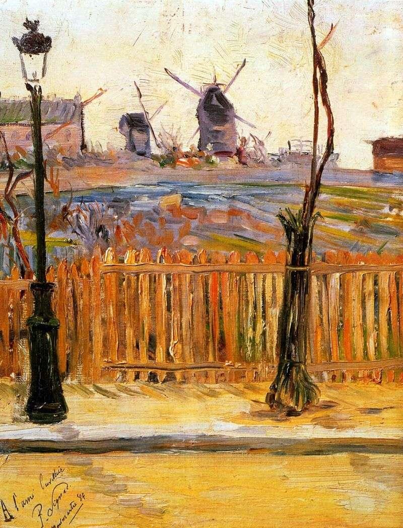 Montmartre Mills   Paul Signac