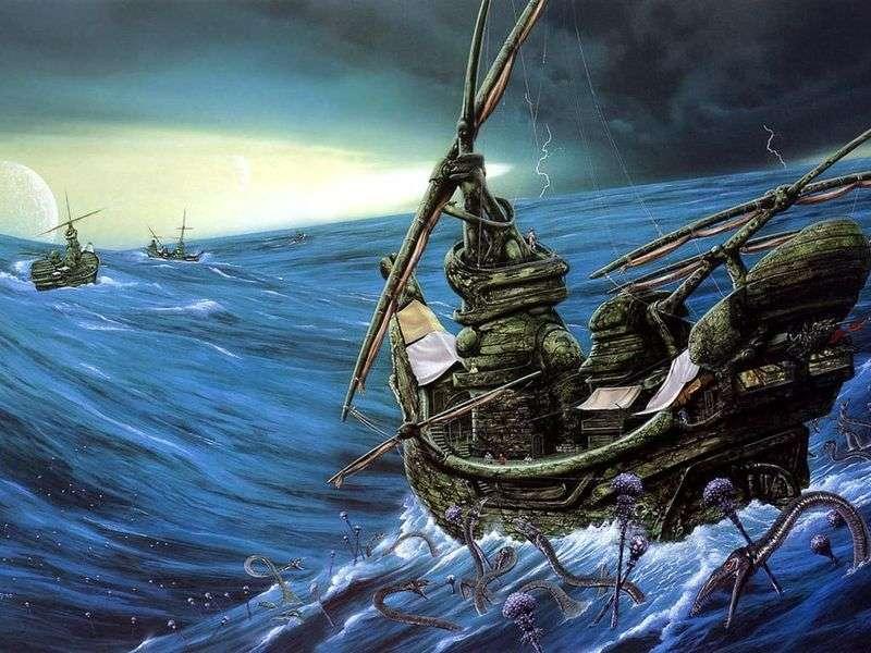 Ocean Grimaces   Jim Burns