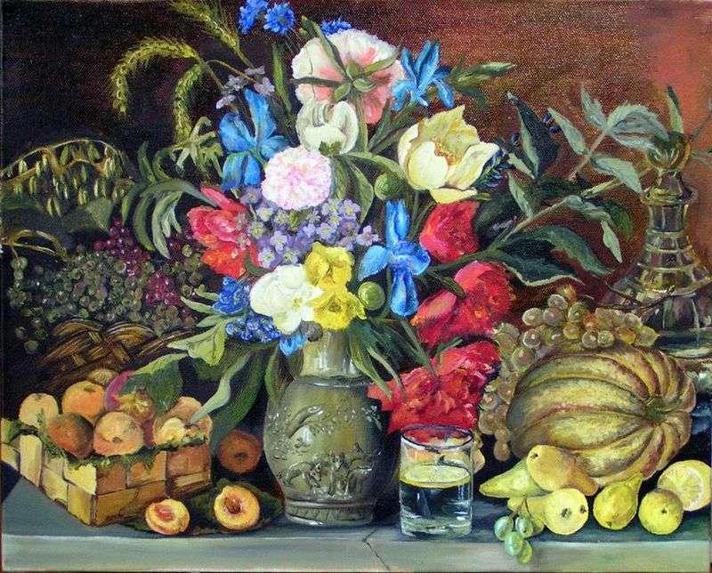 Kwiaty i owoce   Ivan Khrutsky