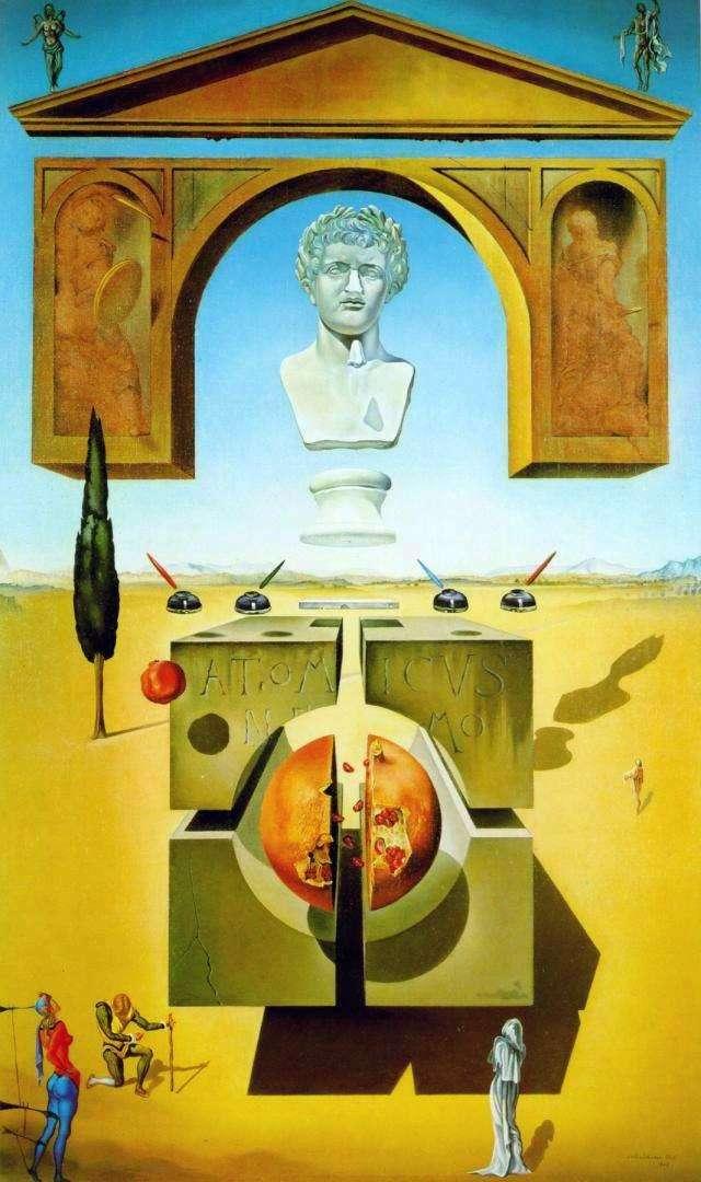 Atom Dzielenie   Salvador Dali