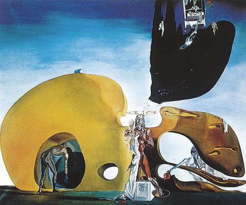 Narodziny płynących pragnień   Salvador Dali