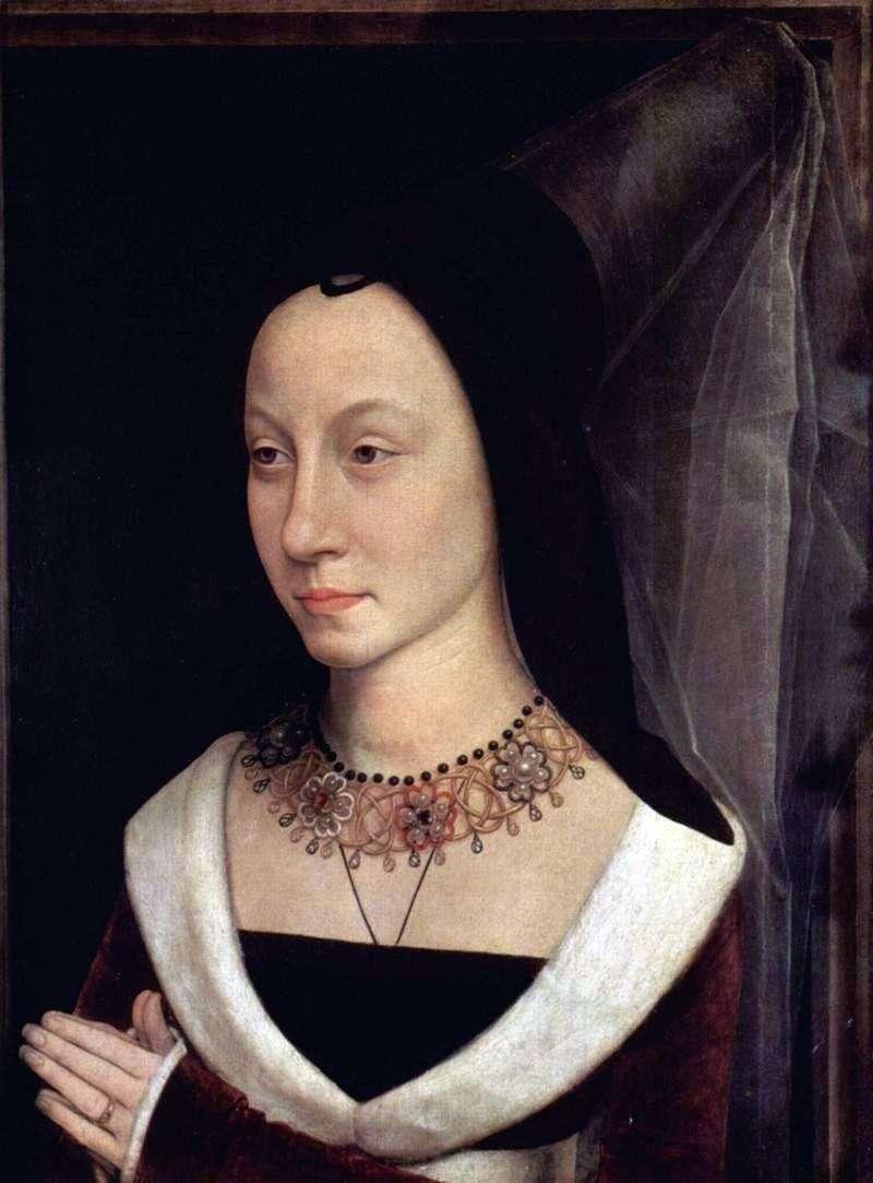 Portret Marii Baroncelli   Hansa Memlinga