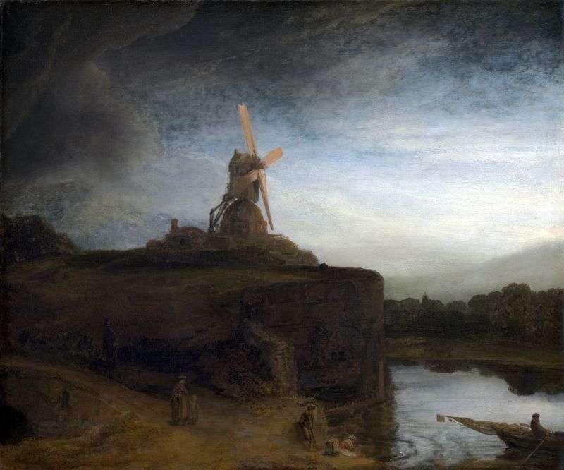 The Mill   Rembrandt Harmens Van Rhine