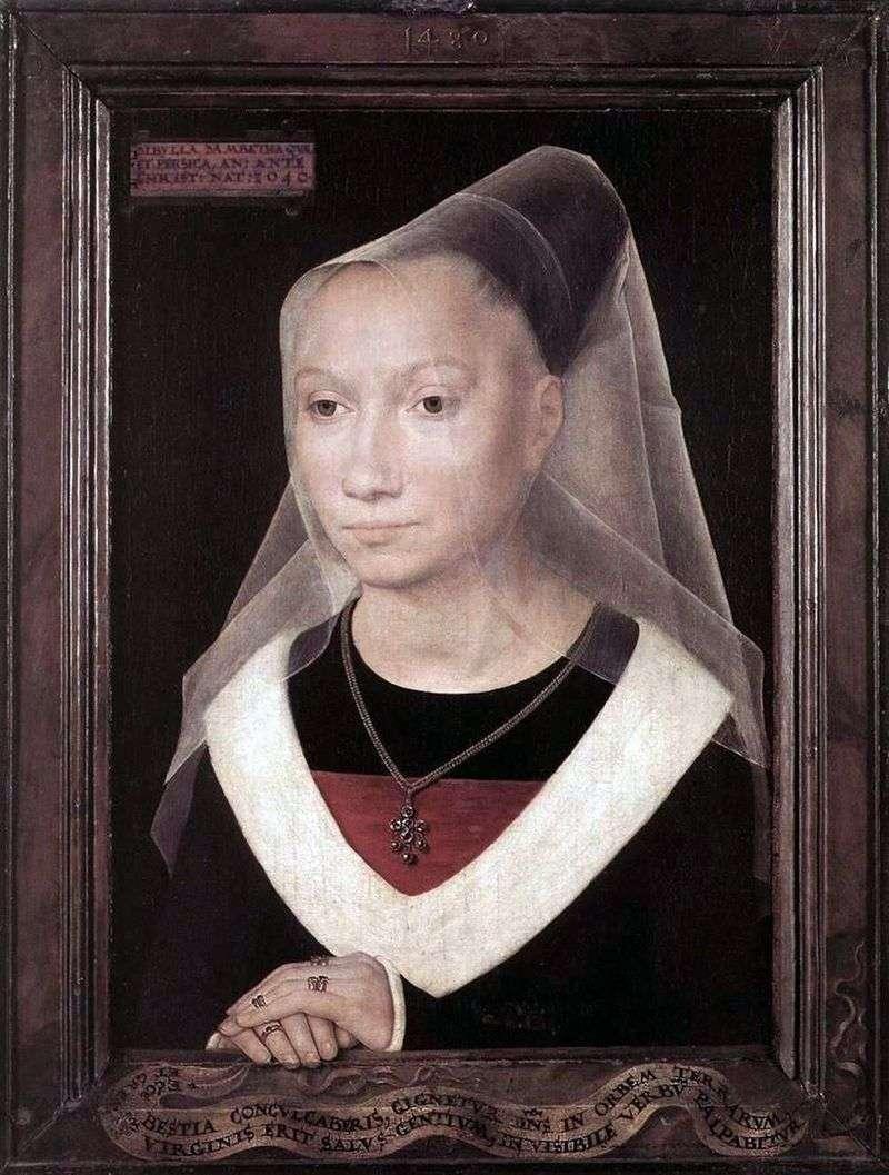 Portret Marii Morela   Hansa Memlinga