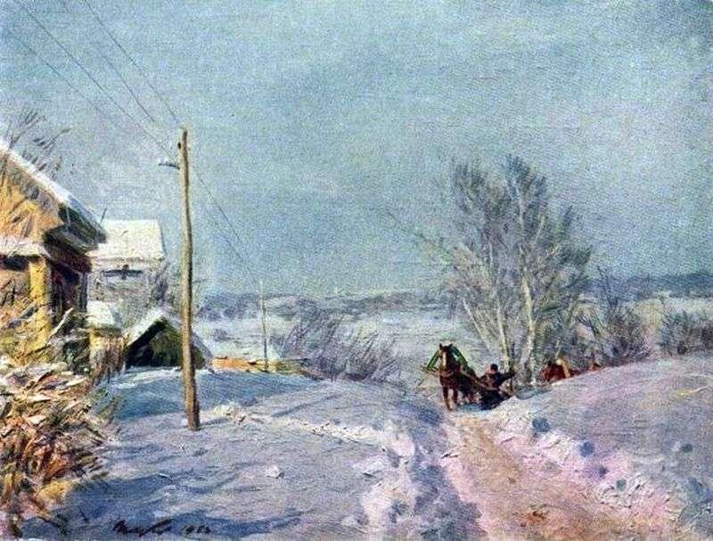 Mróz i słońce   Victor Tsyplakov
