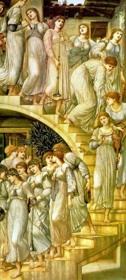 Złote schody   Edward Burne Jones
