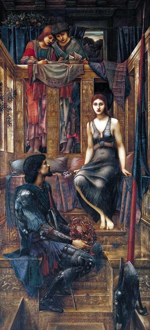 Król Cofetois i żebraczka   Edward Burne Jones