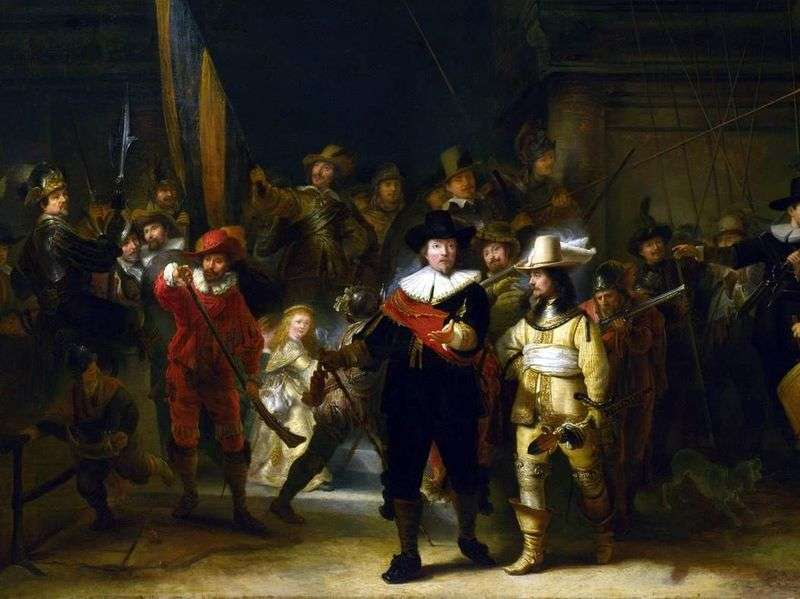 Night Watch   Rembrandt Harmens Van Rhine