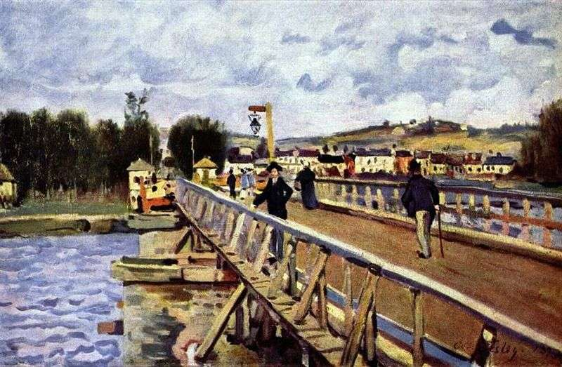 Most w Argentee   Alfred Sisley