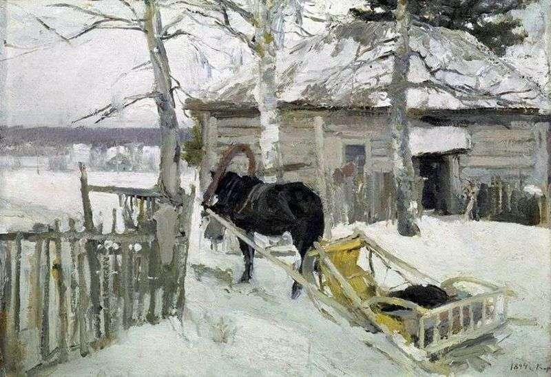 Zimą   Konstantin Korovin