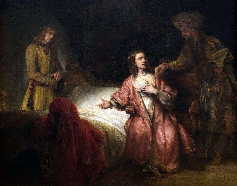 Oskarżenie Józefa   Rembrandt Harmens Van Rhine