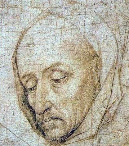 Głowa Świętego Józefa   Rogier van der Weyden