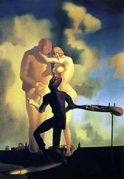 Kontemplacja harfy   Salvador Dali